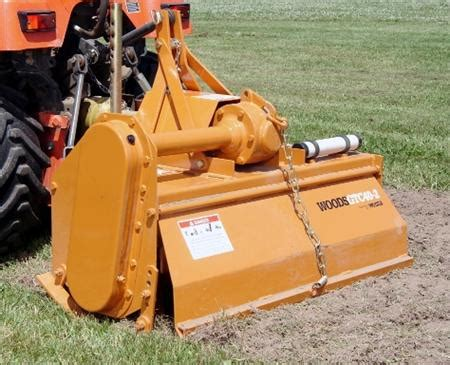 tractor attachment  rear tine tiller mount pleasant