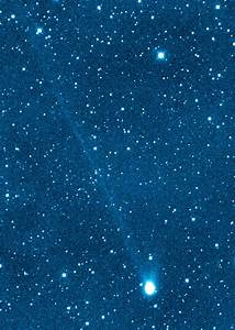 Newly Discovered Comet Has Two Tails