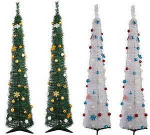 pop up 6ft green white christmas trees 163 15 94 163 14 94 delivered ebay argos outlet