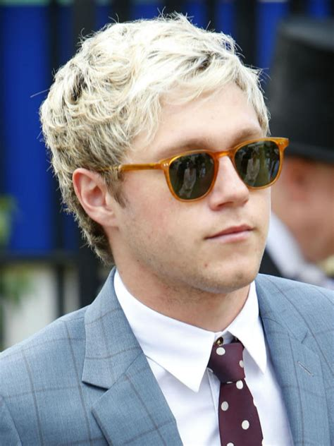 directions niall horan amazes fans  brown hair