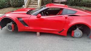 Stolen  2015 Corvette Z06 Has Wheels Stolen While Parked