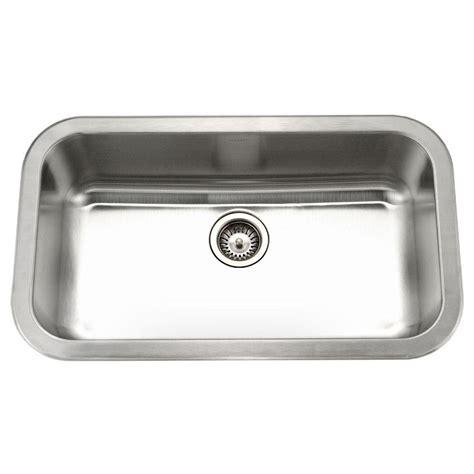 large kitchen sinks bowl houzer medallion gourmet undermount stainless steel 32 in large single bowl kitchen sink mgs