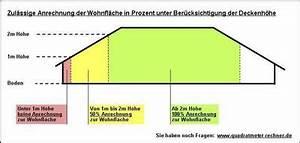 Umbauten Raum Berechnen : berechnung der wohnfl che bei dachschr gen dachschr ge quadratmeter rechner ~ Themetempest.com Abrechnung