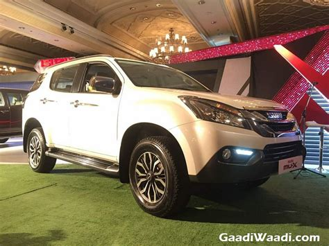 Isuzu Mu-x Suv Launched In India