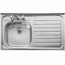 Leisure Contract Square Front Kitchen Sink  Lc106r  1