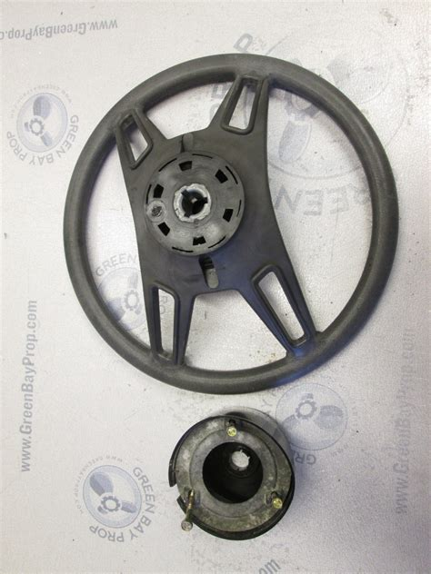 Boat Steering Wheel Shaft by 1987 Thompson Boat Steering Wheel 13 75 Inch Dia Tapered