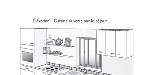 plan de cuisine ouverte plan cuisine ouverte sur salon plan maison t3 u2013 entre