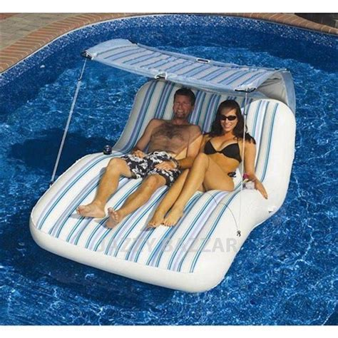 Details about Solstice Luxury Cabana Lounge Inflatable