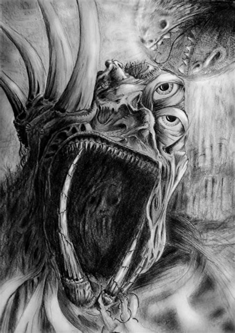 people love  draw pictures  demons