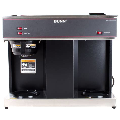 I bought a vps yesterday and in no time i got it all working! Bunn VPS 12 Cup Pourover Coffee Brewer with 3 Warmers ...