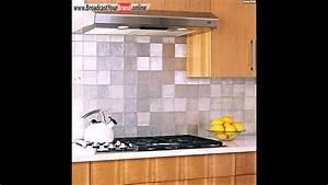 Moderne Fliesen Küche : edelstahl k chenr ckwand fliesen holz theke k che modern ~ A.2002-acura-tl-radio.info Haus und Dekorationen