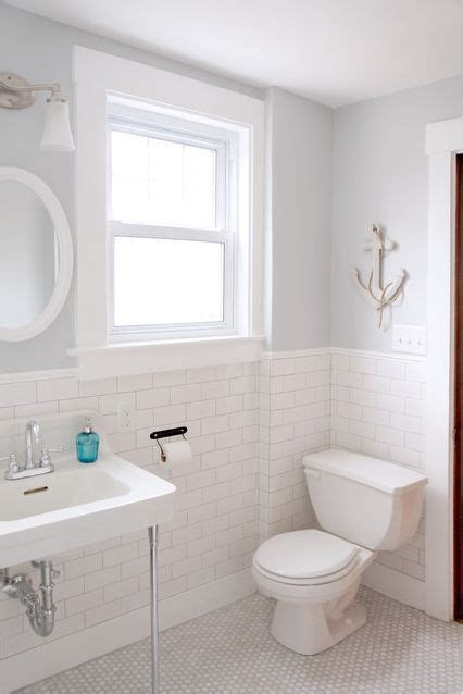 Bathroom Paint Colors With White Tile by 25 Best Ideas About White Subway Tile Bathroom On
