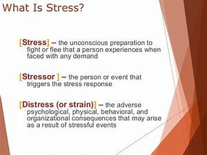 Stress and well being at work place full info