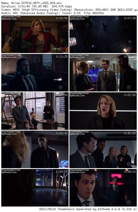 Arrow Season 7 Episode 16 – Star City 2040 [S07E16] Mp4 ...