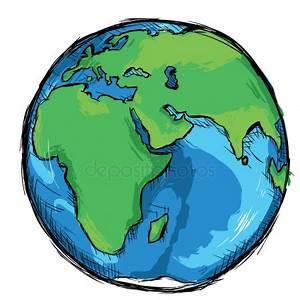 Globe Terrestre Carton : vector cartoon globe stock vector nikiteev 27854555 ~ Teatrodelosmanantiales.com Idées de Décoration