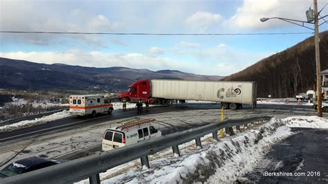 tractor trailer misses hairpin turn iberkshirescom