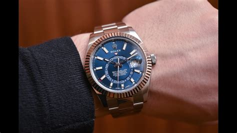Rolex Sky-Dweller 326934 Blue dial 42 mm Rolesor steel and ...