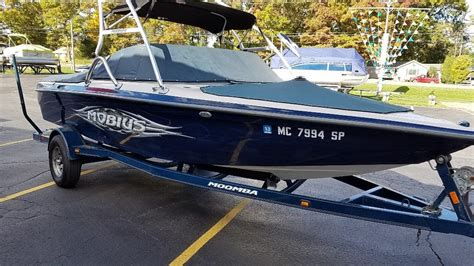 Ski Boats For Sale In Michigan by Moomba Ski Wakeboarding Tow Boat Mobius Boats For Sale In