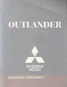 2010 Mitsubishi Outlander Wiring Diagram Manual Original