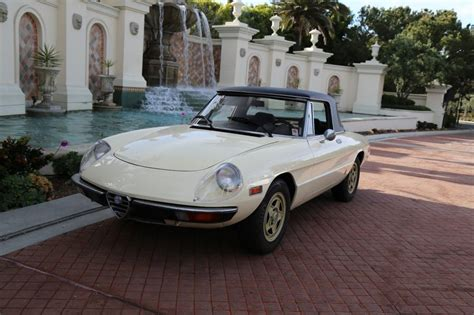 1982 Alfa Romeo Spider Has Factory Hardtop For Sale