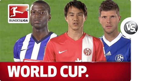 Bereits drei wochen zuvor wurde der premierenspieltag der neuen 3. Striker 2 - Bundesliga World Cup Dream Team Battle - YouTube