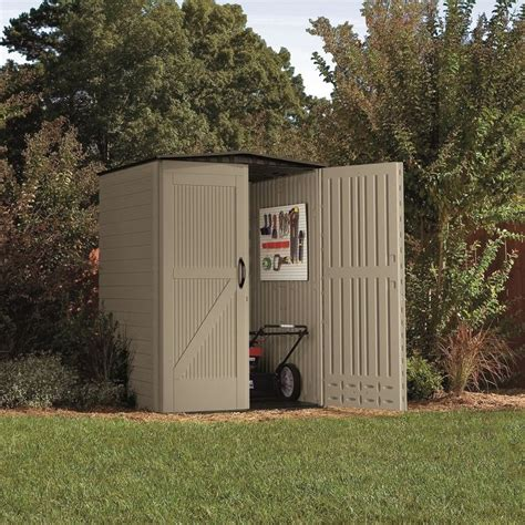 rubbermaid roughneck storage shed 5ft x 2ft shop rubbermaid roughneck gable storage shed common 5 ft