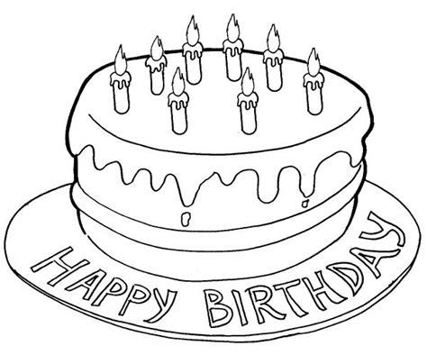 disegno bambina facile torta di compleanno per bambini disegni da stare