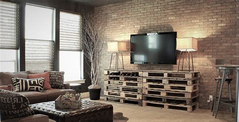 brick feature wall  solution  comfort style  living