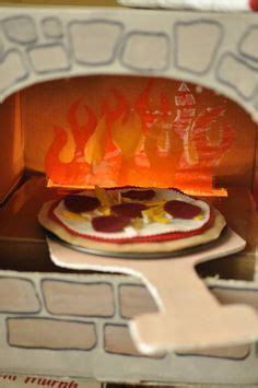 pizza string lights cardboard pizza oven 2 0 i used string lights in the box