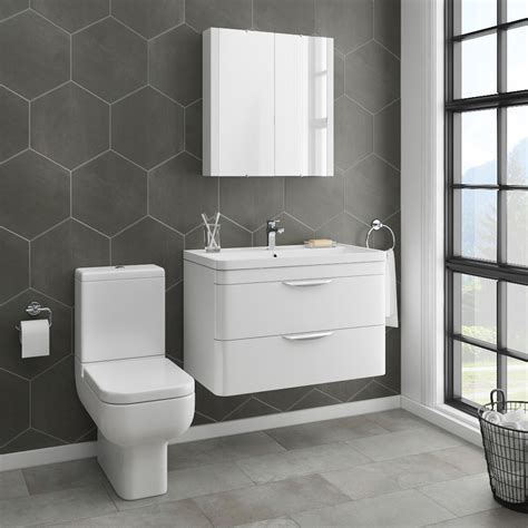monza vanity unit modern toilet package victorian