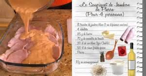 julie cuisine fr3 saupiquet de jambon de recettes les carnets de