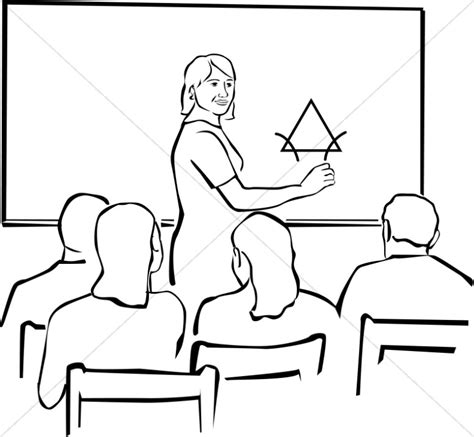 14692 student clipart black and white clipart in black and white christian classroom