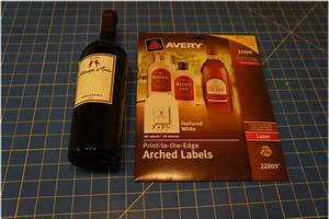 diy holiday wine labels think crafts by createforless With avery wine labels 15516