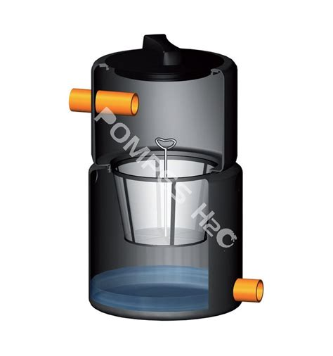 filtre enterr 233 eau de pluie filtration des feuilles petits cailloux r 233 sidus avec panier de
