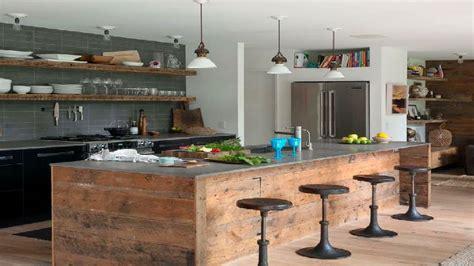 cuisine usine buffet de cuisine style industriel