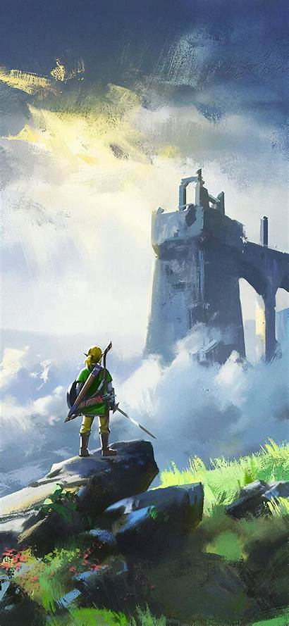 Zelda 4k Legend Huawei Nova Wallpapers Breath
