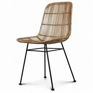 Chaise En Rotin Ikea : chaise rotin naturel pieds mtal talia with chaises rotin ikea ~ Teatrodelosmanantiales.com Idées de Décoration