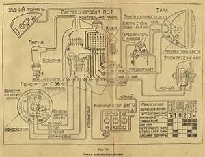 Schaltplan Russisch Aus Dem Izh