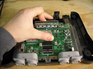 Repairing Nintendo 64 Cartridge Slot