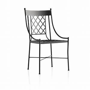 Chaise De Jardin En Fer : chaise de jardin en fer forg marsella 4 pieds tables chaises et tabourets ~ Teatrodelosmanantiales.com Idées de Décoration