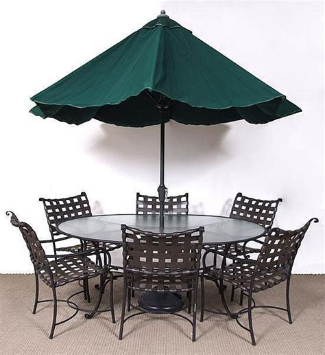 7 brown patio set 1990 s roma collec