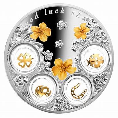 Luck Charms Coin Silver Fine Coins Mintage