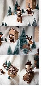 Basteln Kindern Weihnachten Tannenzapfen : mit naturmaterialien basteln wald weihnachten pinterest schnee selber machen und basteln ~ Whattoseeinmadrid.com Haus und Dekorationen