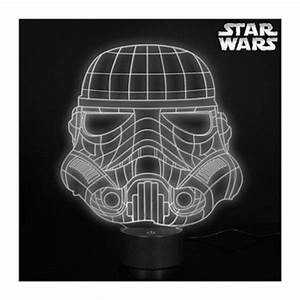 Lampe Star Wars : lampe acrylique stormtrooper usb distribu e par kas design revendeur d 39 articles star wars ~ Orissabook.com Haus und Dekorationen