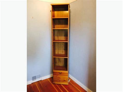 tall narrow bookcase ikea tall narrow ikea bookshelf with antique stain finish