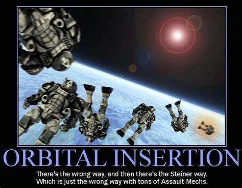 battletech memes orbital steiner dropship insertion meme mechwarrior assault wonderful mechs via airtight 45deg hangar doors beer much sarna