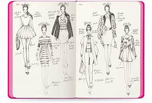fashionary candy pops cherry With fashion sketchbook with templates