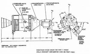 Spacecraft Apollo Technical Drawings - Pics about space