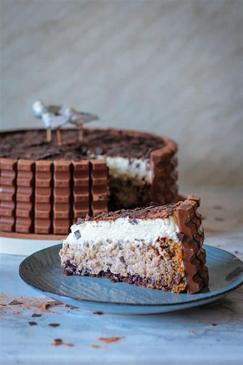 kinderschokolade kuchen rezept kinderschokolade torte kuchen und s 252 ssgeb 228 ck