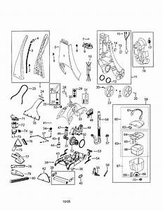 Bissell Carpet Cleaner Parts Diagram